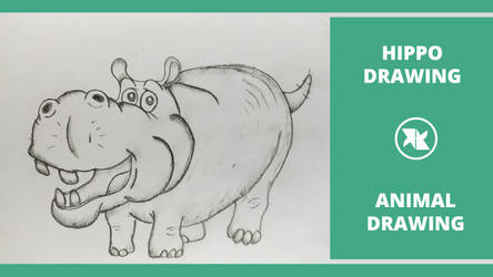 How To Draw A Cute Hippo Easy Step By Step By Mlspcart On Deviantart