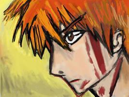 Ichigo Kurosaki-Determination by Fran48