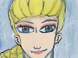 Frozen :3 Elsa the snow Queen-Close up:3 by Fran48