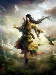 Cloud Warrior by nkabuto
