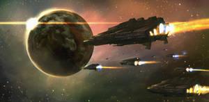 The fleet by nkabuto