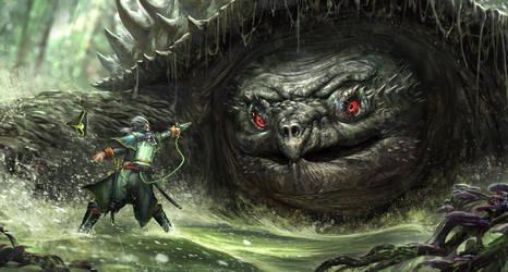 Monster Hunter by nkabuto