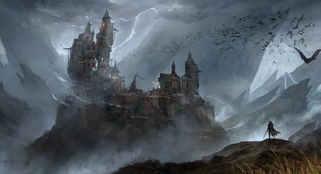 Dracula Castle by nkabuto