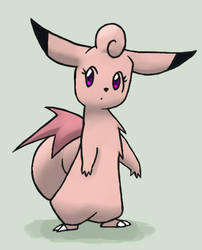 Clefable by Apricotil