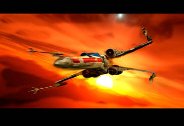 THE X-WING by PUFFINSTUDIOS