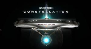 STAR TREK CONSTELLATION FILM POSTER by PUFFINSTUDIOS