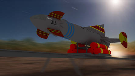 Fireball Xl5 Take Off!! by PUFFINSTUDIOS