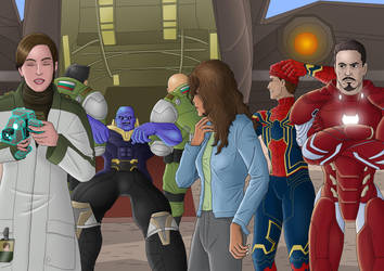 (Xcom Crossover) Thanos arrested by TheBritWriter