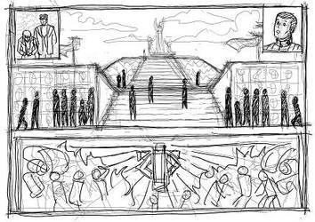 memorial sketch by TheBritWriter