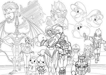 Tournament of smash (WIP) by TheBritWriter