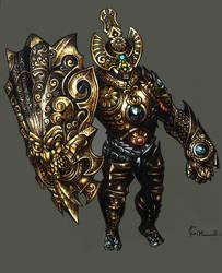 Iron KNIGHT by KOLEPSY