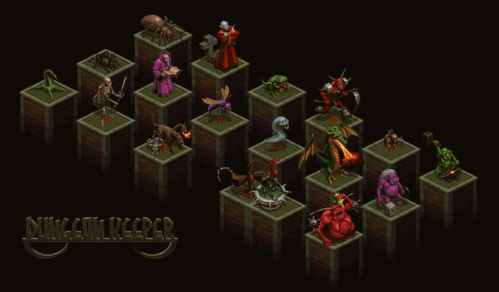 Dungeon Keeper by Wolfenoctis