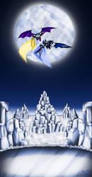 Maya knight vs Meta knight by Meta-Kaz