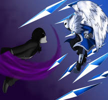 Com Archer vs Abyss sans by Meta-Kaz