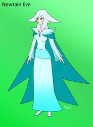 Eve in diffrent Au dress Newtale by Meta-Kaz
