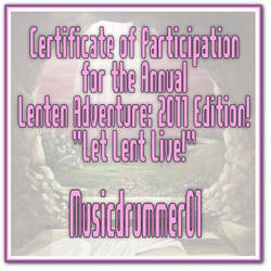 ALA 2011 Certificate by musicdrummer01