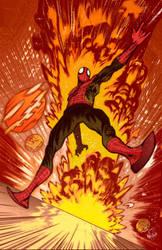 James Harren Spider-Man by Pleurgh