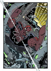 Cian Tormey Spider-Man vs Superior Doctor Octopus by Pleurgh