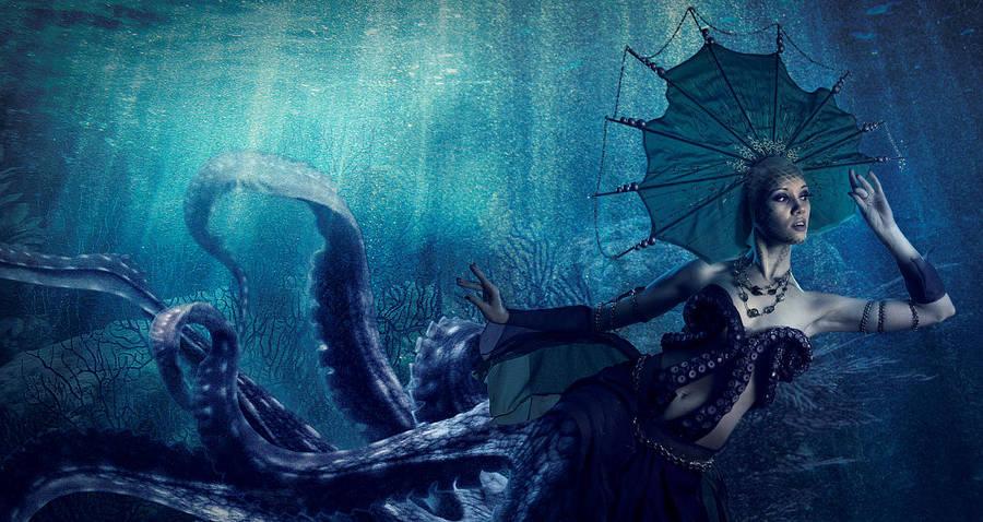 Queen of the Deep by michellemonique