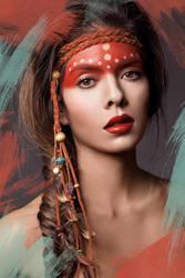 Native American Beauty by michellemonique