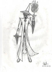 Black Mage Evilwizardington by GodOfUrging