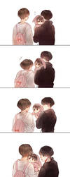 Taekook family by dandnoni