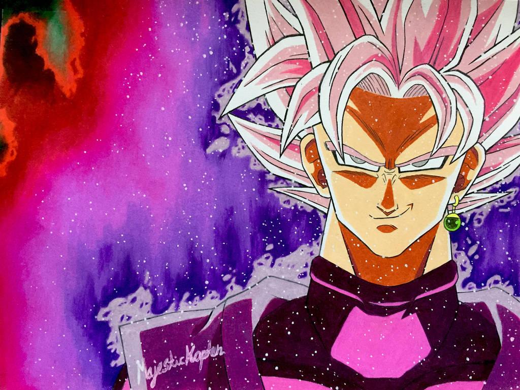 Goku black super saiyan rose by majestickapten on deviantart - Super saiyan rose wallpaper ...
