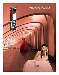 Nokia 7280 Print Ad by torchboy