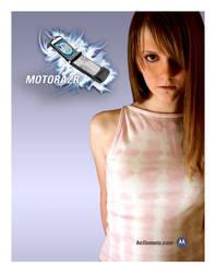 Motorola V3 RAZR Print Ad by torchboy