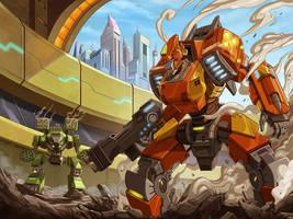 Mechanical Wars by kikicianjur