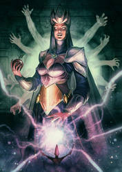 Evil Queen by kikicianjur