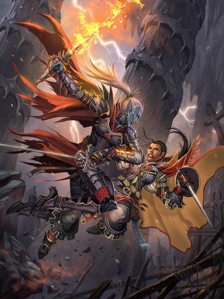 Heroes of the Darkland by kikicianjur