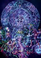 Psychedelic Mandala, The Gate by jlof