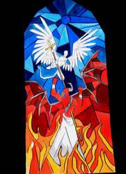 angel and demon by emeraldnephilim8