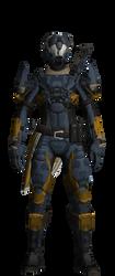 destiny titan Viola 2 by XRaiderV1