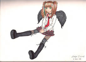 Punk Angel by hihihellokitty