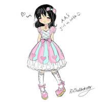 Lolita: Quick Sketch by hihihellokitty