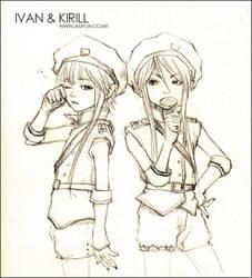 ivan and kirill by iamFUN