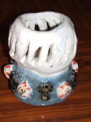 Third Eye pot by Uglymuffintop