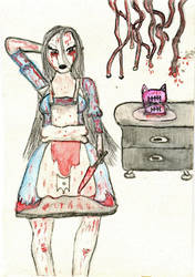 Creepy Alice by Uglymuffintop