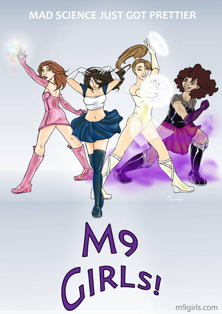 M9 Girls Movie-like Poster by rulopotamo