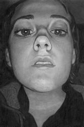 Sarah Pencil Portrait by TheZacAttack