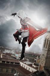 Ezio Auditore Cosplay (Assassin`s Creed 2) female by Vertishake