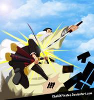 One Piece 730 - Zoro Vs fujitora by KhalilXPirates