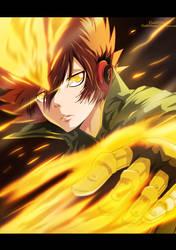 Sawada - X Burner by KhalilXPirates