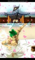 One Piece 909 - Zoro by KhalilXPirates