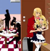 Commission : Shinji x Marise by MoonPrincessAya