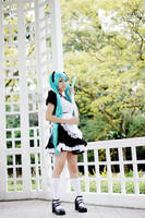 -Maid- Hatsune Miku by Itchy-Hands