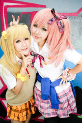 Idolm@ster - Jougasaki Sisters by Itchy-Hands
