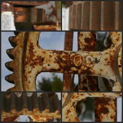 Rusty Gear by n2large0shirt